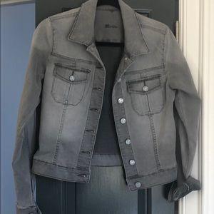 Kut denim jacket, gray, large